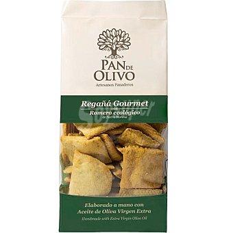 PAN DE OLIVO Regañá gourmet con romero ecológico y aceite de oliva virgen extra paquete 200 g paquete 200 g