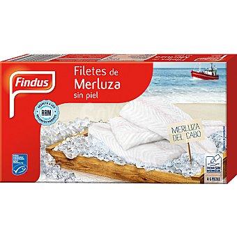 Findus Filetes de merluza sin piel 4-5 piezas Estuche 400 g neto escurrido
