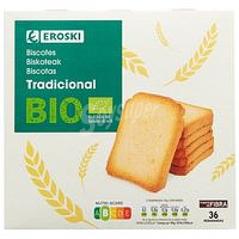 Eroski Bio/ECO + E.Natur BIO Biscotte tradicional Caja 300 g