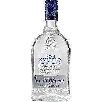 BARCELO Gran Platinum ron blanco dominicano Botella 70 cl