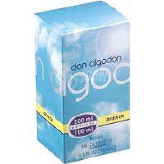Don Algodón Colonia para mujer con vaporizador Frasco 200 ml