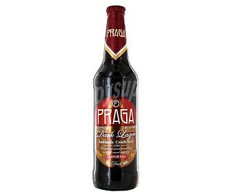 Praga Cerveza checa negra de importación Botella de 50 centilitros