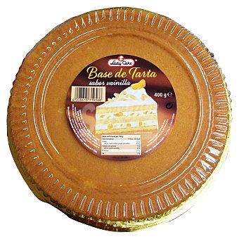 LADY CAKE Base tarta sabor vainilla 400 g