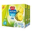 Néctar de piña sin azúcares añadidos Pack 6 briks x 200 ml Juver Disfruta