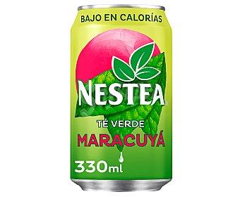 Nestea Bebida de té verde con maracuyá Lata de 33 centilitros