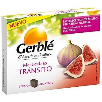 GERBLE Tránsito intestinal cubitos masticables  paquete 127 g