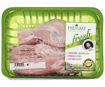 HERMI Medio conejo de origen español fresh 550 gramos aproximados