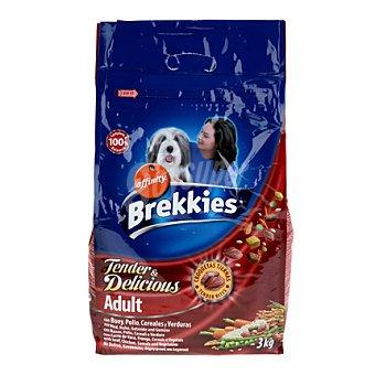 Brekkies Affinity Comida para perro Tender & Delicious con carne fresca Excel 3 kg