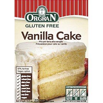 ORGRAN Free From Preparado para pastel de vainilla sin gluten Envase 375 g
