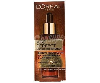 L'Oréal Sérum reparador extraordinario nutrición intensa especial para pieles maduras y desnutridas Age Perfect de 30 mililitros