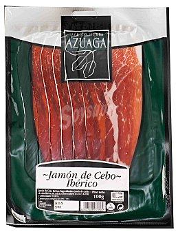 SIERRA DE AZUAGA Jamón ibérico de cebo en lonchas Sobre 100 g