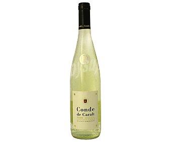 CONDE DE CARALT Suave Vino blanco suave con denominación de origen de Catalunya conde DE caralt botella de 75 centilitros 75cl