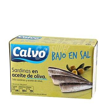 Calvo Sardinas en aceite de oliva ''bajo en sal'' 84 g