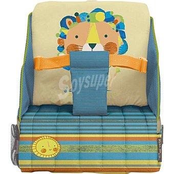JANE Bolso trona con compartimentos y dibujo de león