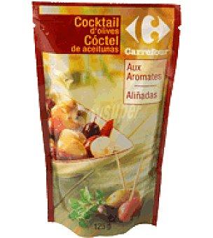 Carrefour Cocktail de aceitunas aliñadas 125 g