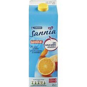 Eroski Sannia Néctar de naranja sin azúcar Brik 2 litros