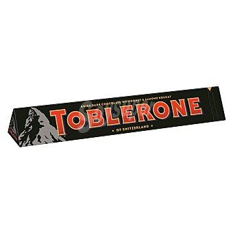 Toblerone Barrita de chocolate negro suizo con nougat de miel y almendras Estuche 100 g