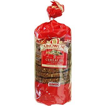 Oroweat Bimbo pan crujiente de 5 cereales y semillas Bolsa 160 g