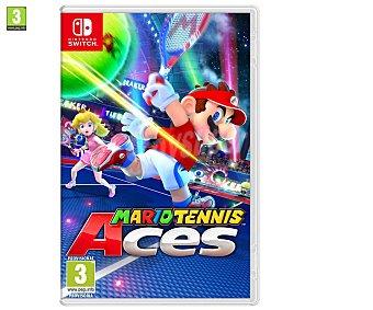 Nintendo Videojuego Mario Tennis Aces para Nintendo Switch. Género: tenis, deporte. pegi: +3 Mario Tennis Aces Switch