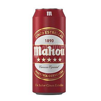 Mahou Cerveza 5 estrellas Lata de 50 cl