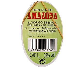 AMAZONA Ron 70 centilitros