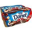 Pop choco 4x117g Danet Danone