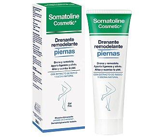 Somatoline Cosmetic Gel frio con acción drenante y remodelante de piernas 200 ml