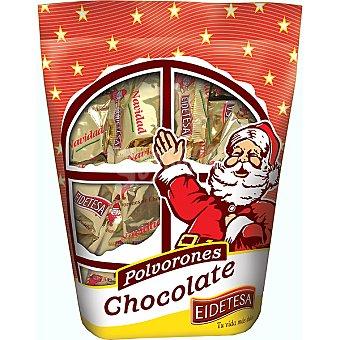 Eidetesa Polvorones de chocolate Bolsa 400 g