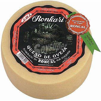 Ronkari Queso viejo de oveja D.O. Roncal  2,7 kg (peso aproximado pieza)