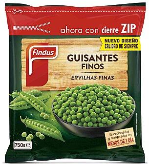FINDUS Guisantes finos bolsa 750 g