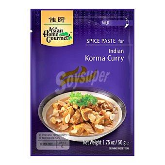Asian Home Gourmet Pasta de especia para korma curry 50 g