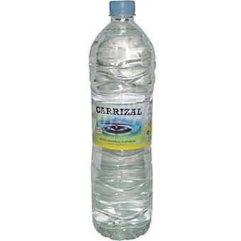 CARRIZAL Agua mineral natural Botella 1,5 l