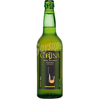 Cortina Sidra natural Botella 70 cl