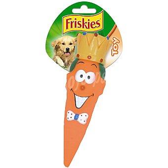 Friskies Purina Juguete para perro modelo zanahoria  1 unidad