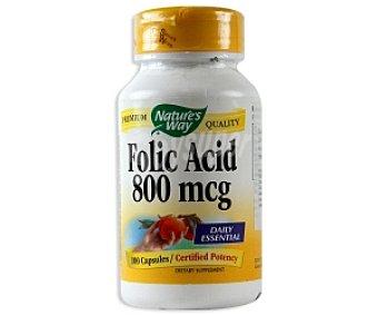 NATURE´S WAY Ácido fólico 100 C