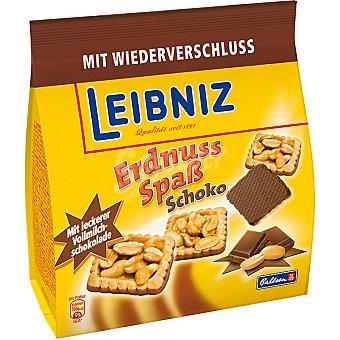 Bahlsen Galletas con cacahuetes caramelizados y chocolate Bolsa 165 g