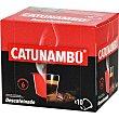 Café descafeinado intensidad 6 estuche 10 cápsulas compatibles con máquinas Nespresso 6 estuche 10 c Catunambu