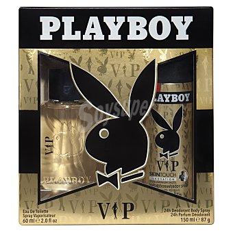 Playboy Fragrances Lote hombre vip eau toilette + Desodorante Toilette 50 ml + desodorante 150 ml