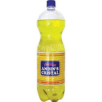 INCA KOLA Cristal refresco peruano Botella 2 l
