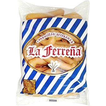LA FERREÑA Rosquillas de pan bolsa 250 g Bolsa 250 g