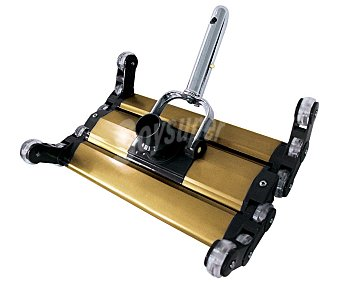 KOKIDO Limpiafondos manual artículado de 35 centímetros modelo élite, fabricado en aluminio y con peso extra para facilitar un contacto permanente con el suelo 1 unidad