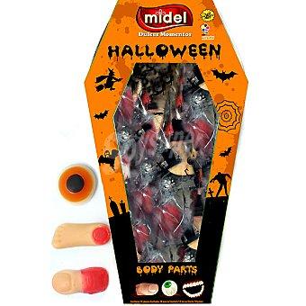 MIGUELAÑEZ Ataud Body Part caramelos surtidos de Halloween  envase 100 g