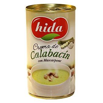 Hida Crema de calabacín con mascarpone Lata de 330 g