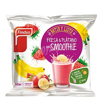 Findus Smoothie de Fresa y Plátano Bolsa 300 gr