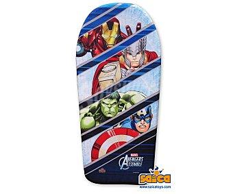 Marvel Tabla de body board recubieta de PVC de 84 centímetros y con el diseño de tus personajes favoritos de la película Los Vengadores 1 unidad