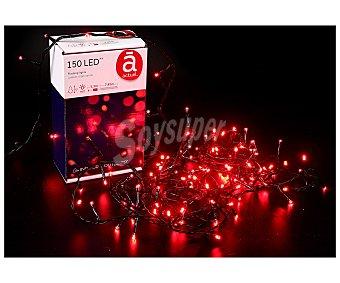 Actuel Luces de navidad con 150 leds con luz fija de color rojo ACTUEL 150 led rojo