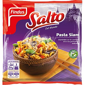 FINDUS SALTO DEL MUNDO Pasta Siam bolsa 600 g Bolsa 600 g