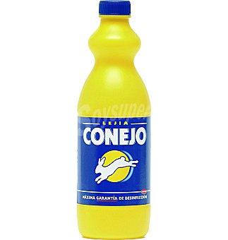 Conejo Lejia amarilla Botella 1 lt