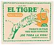 Gasificante gaseosa sabor a naranja 32 g El Tigre