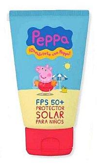 PEPPA PIG Protector solar corporal niños F50+ con color (crema) Tubo 150 cc